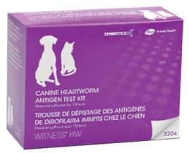 Witness HW Heartworm Canine/Feline Antigen Test Kit (10 tests)