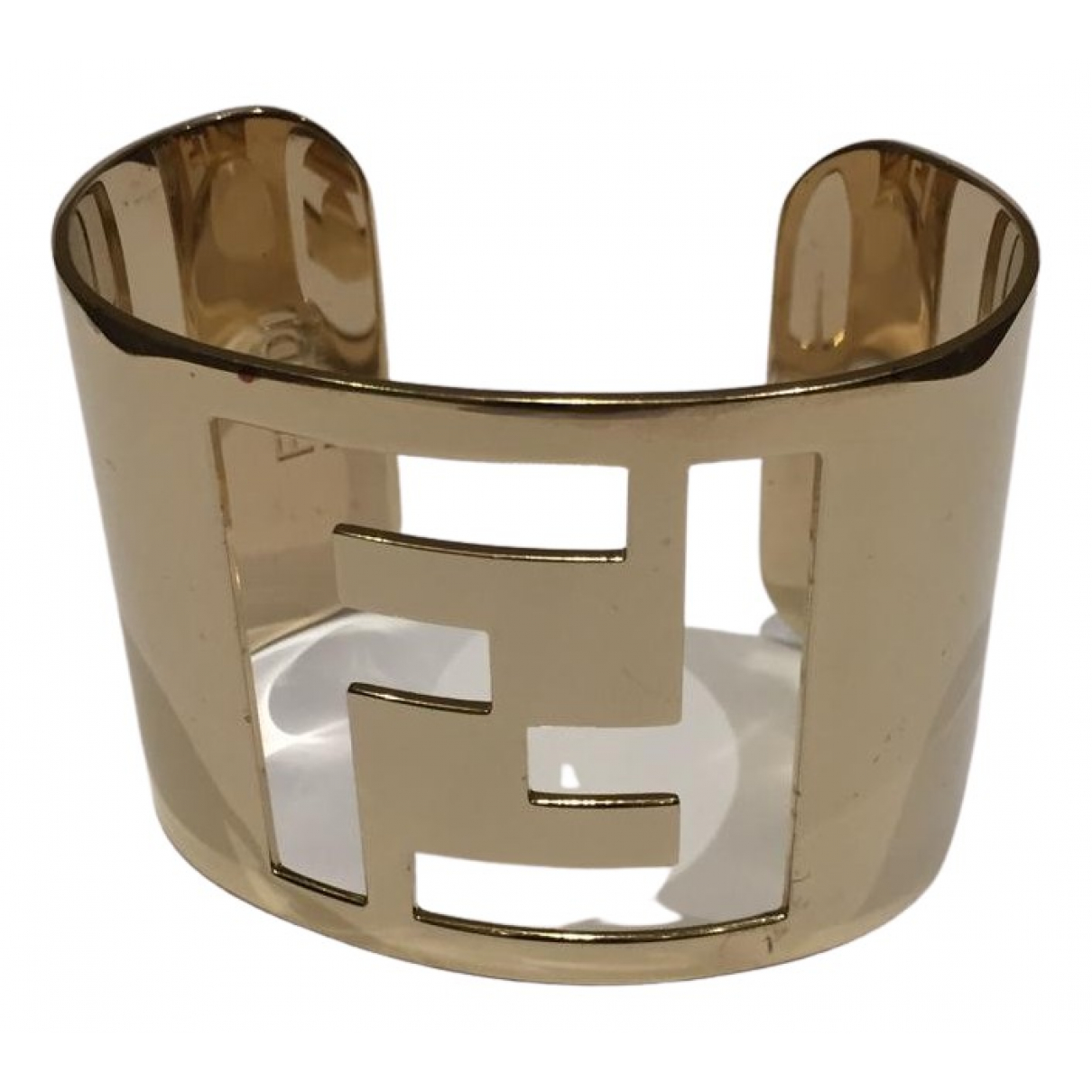 Fendi \N Armband in  Gold Metall