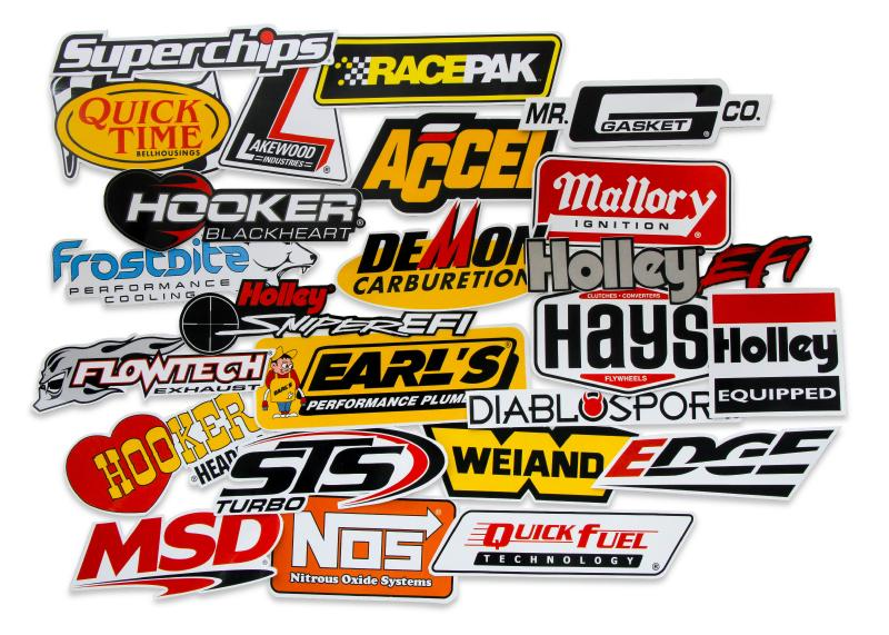 DECAL - HOLLEY GO FAST STICKER PACK