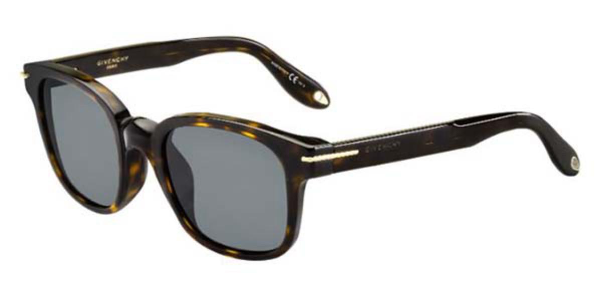 Givenchy GV 7020/F/S Asian Fit 086/E5 Women's Sunglasses Tortoise Size 51