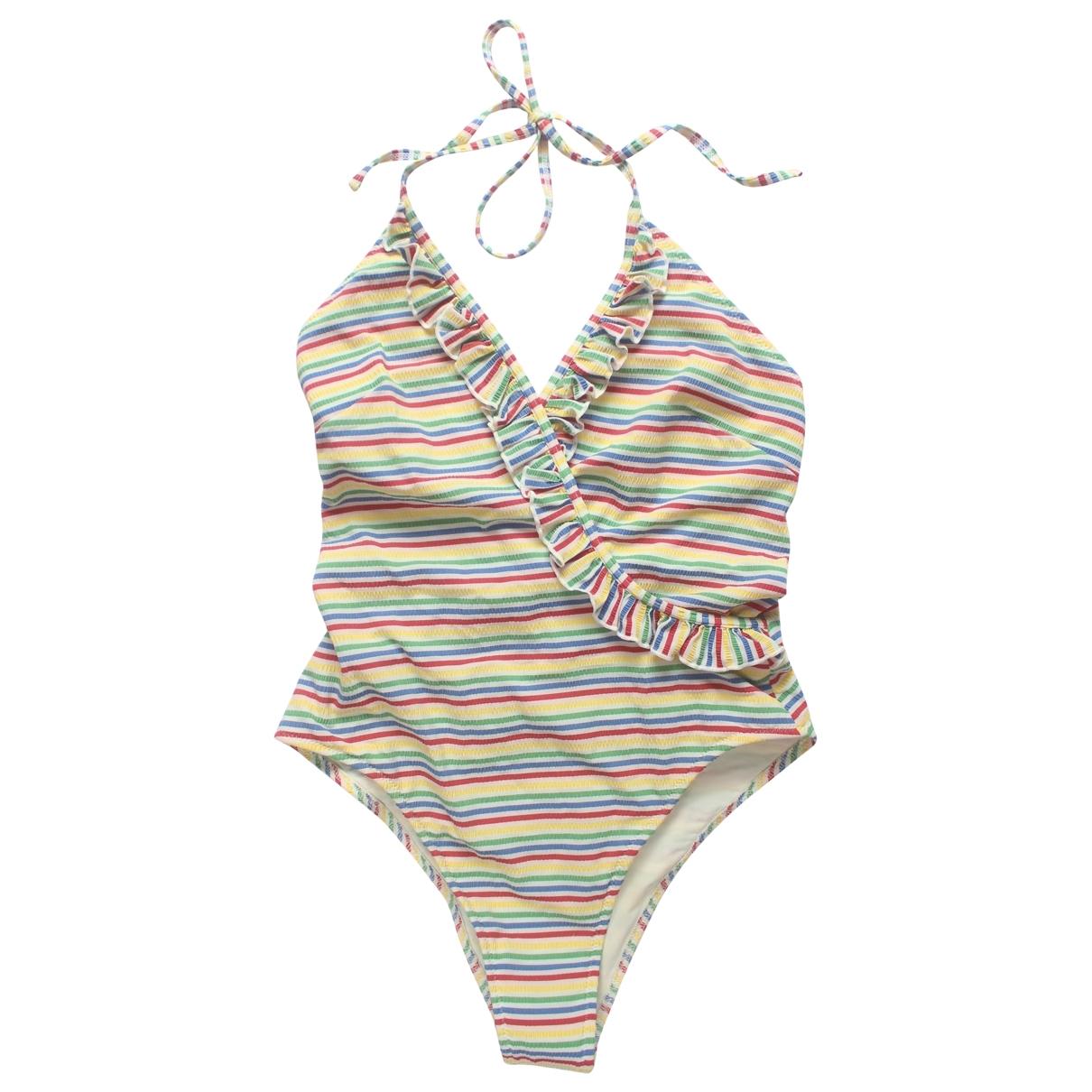 Solid & Striped \N Badeanzug in  Bunt Lycra