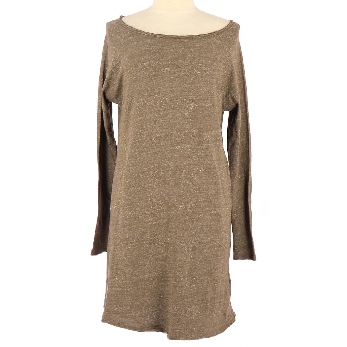 American Vintage - Robe   pour femme en coton - marron