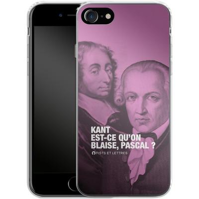 Apple iPhone 7 Silikon Handyhuelle - Kant Blaise Et Pascal von Fists Et Lettres