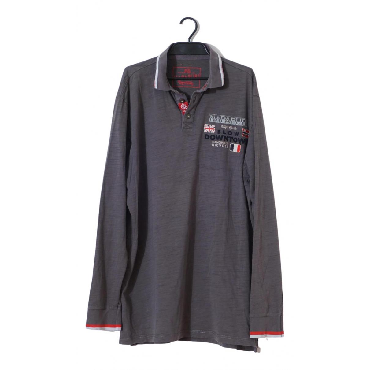 Napapijri \N Poloshirts in  Grau Baumwolle