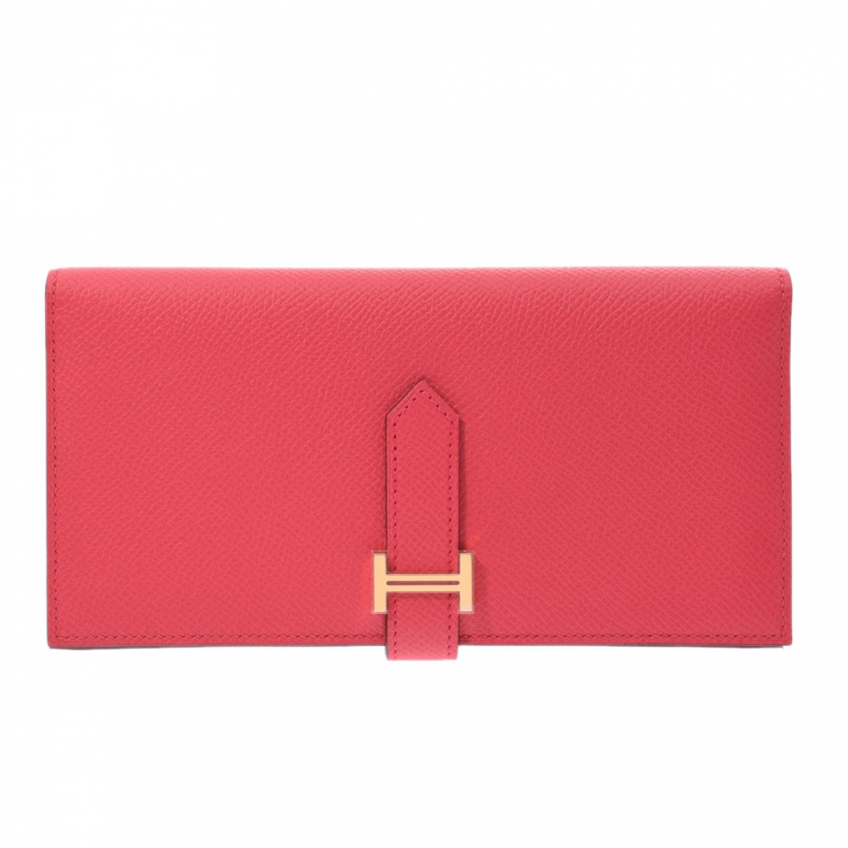 Hermès Béarn Pink Leather wallet for Women \N