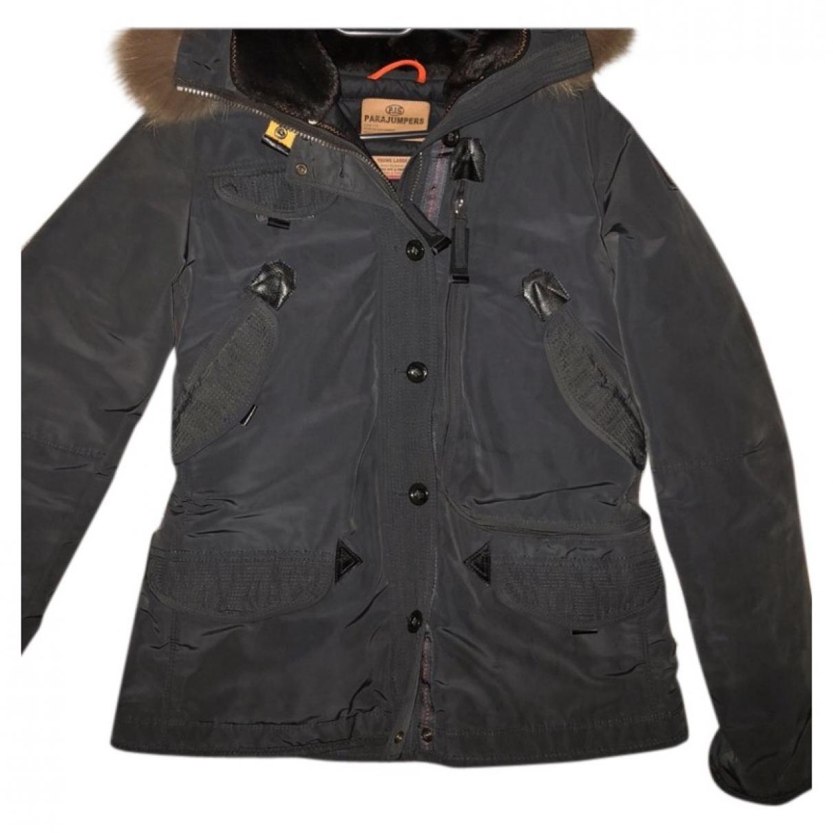 Parajumpers - Manteau   pour femme en fourrure - gris