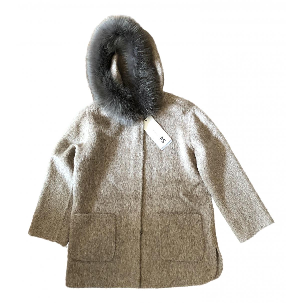Manzoni 24 - Manteau   pour femme en fourrure - beige