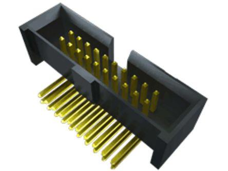 Samtec , SHF, 20 Way, 2 Row, Right Angle PCB Header (350)