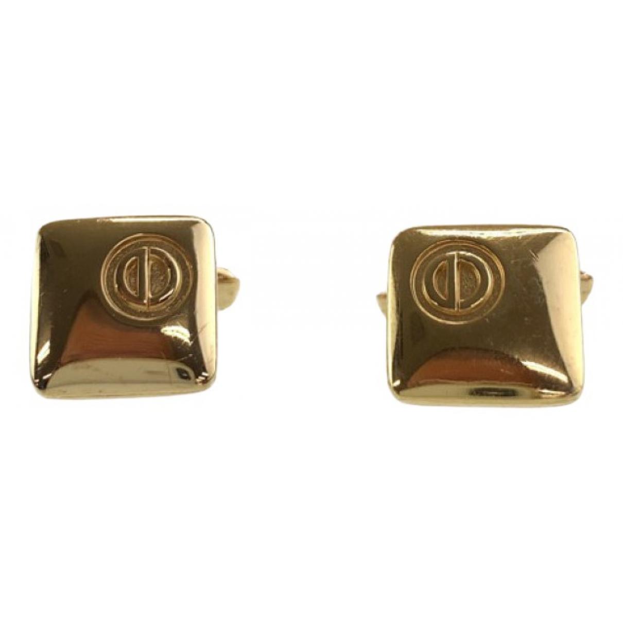 Dior \N Manschettenknopfe in  Gold Metall