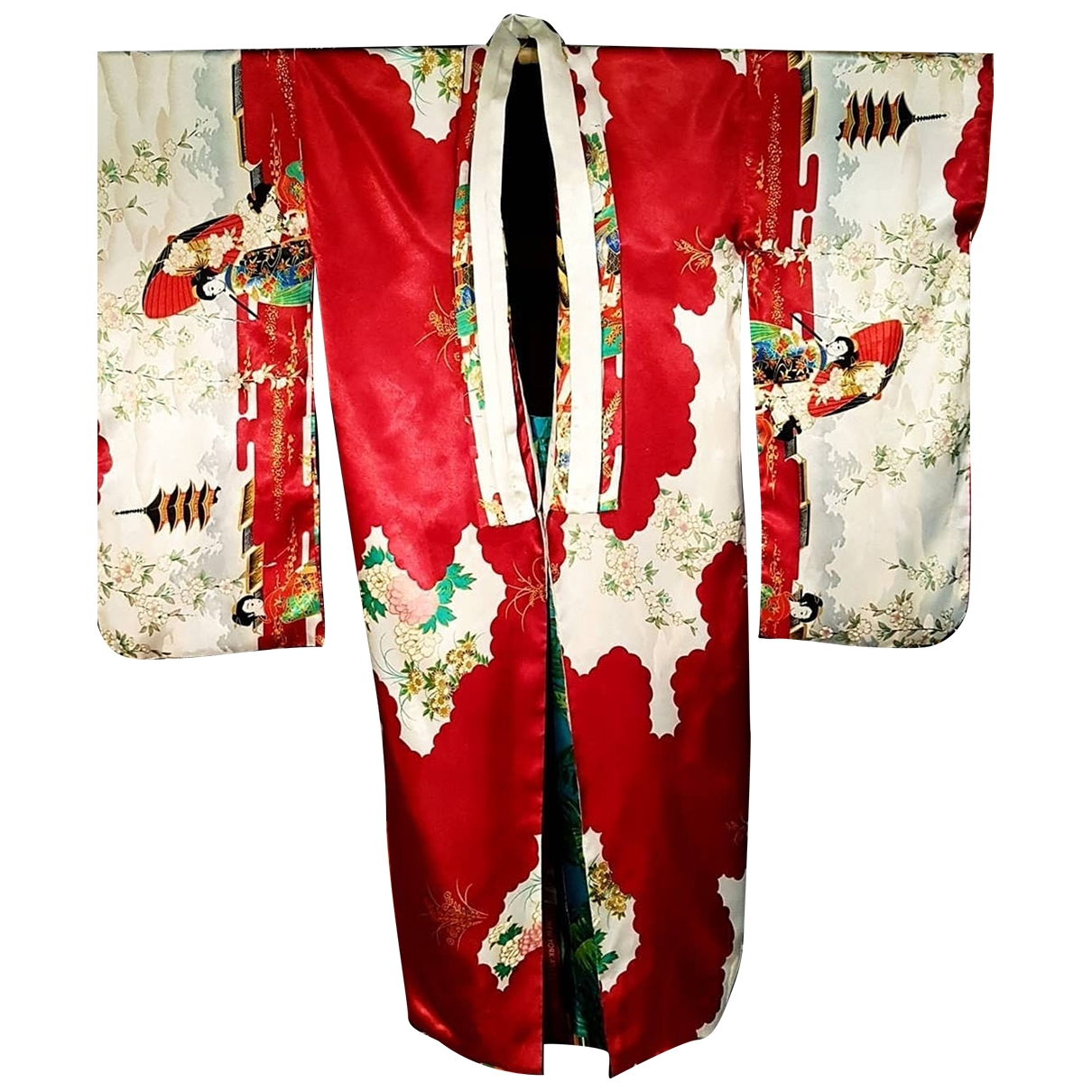 Non Signé / Unsigned \N Red jacket for Women One Size International