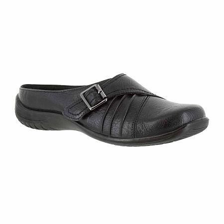 Easy Street Womens Hart Slip-On Shoe, 10 Medium, Black
