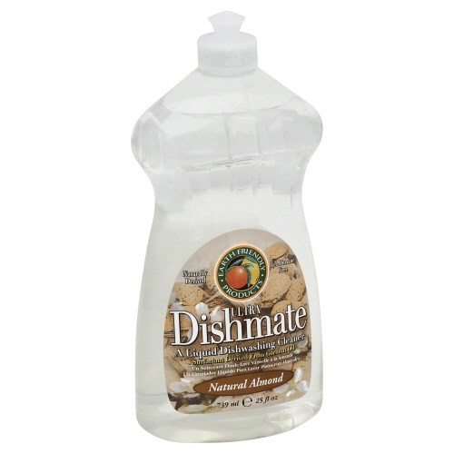 Ultra Dishmate Liquid Dishwashing Cleaner Natural Almond 25 oz(case of 6) by Earth Friendly