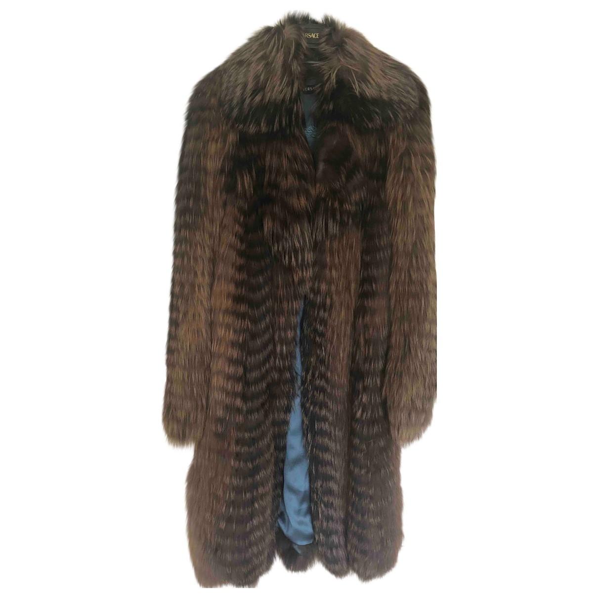 Versace \N Maentel in Fuchs