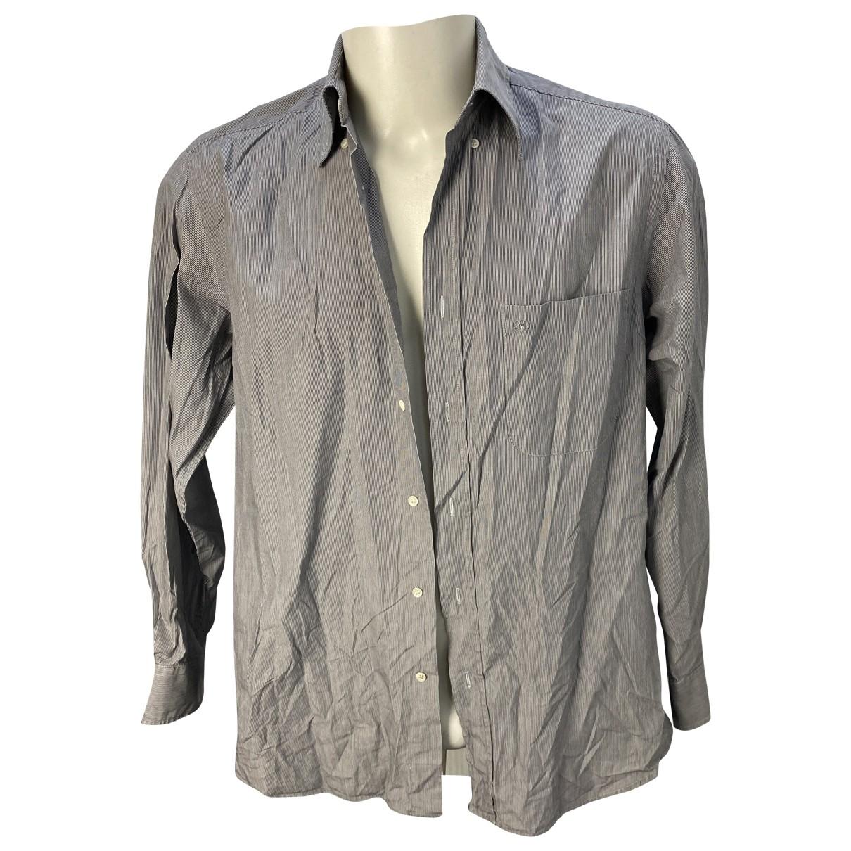 Valentino Garavani - Chemises   pour homme en coton - gris