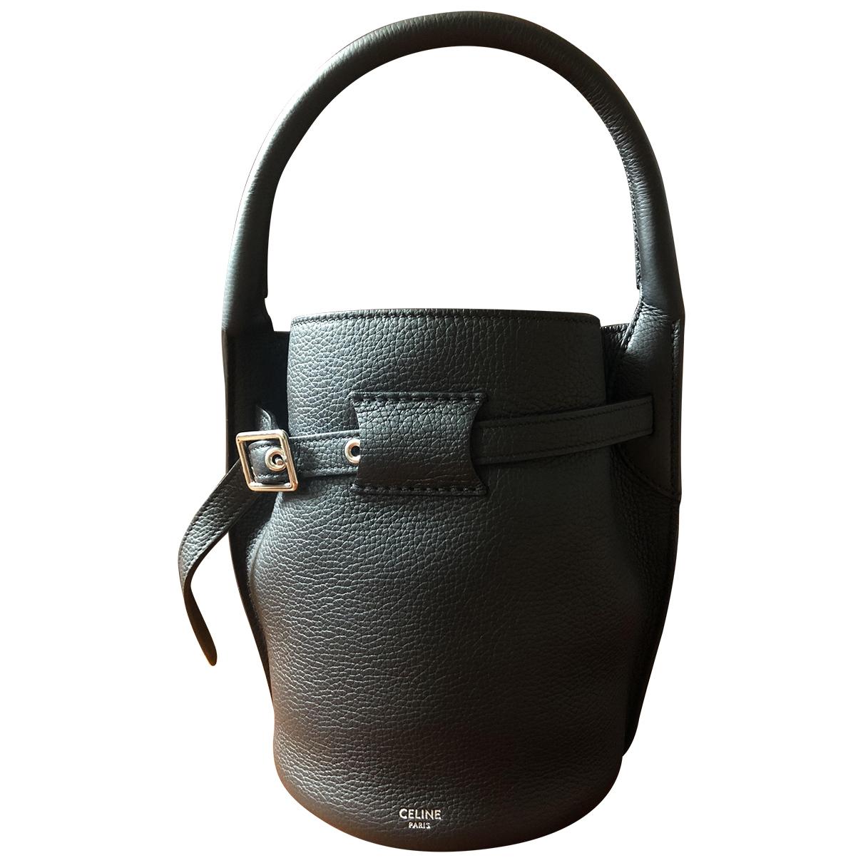 Celine Big Bag Black Leather handbag for Women \N