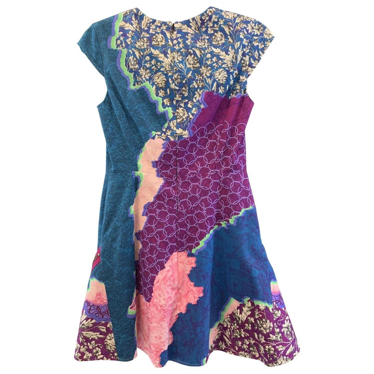 Peter Pilotto \N Blue Cotton dress for Women 40 IT