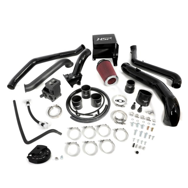 2011-2012 Chevrolet / GMC S300 Single Install Kit No Turbo Gloss Black HSP Diesel 514-1-HSP-GB