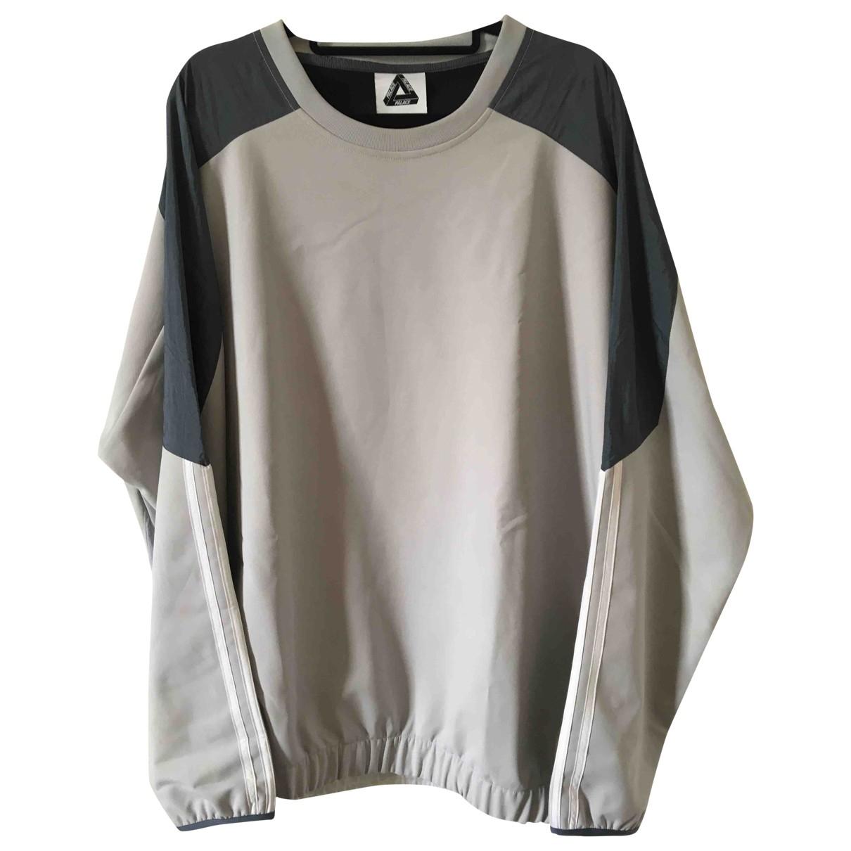 Palace X Adidas - Pulls.Gilets.Sweats   pour homme - gris