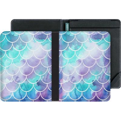 tolino vision 3 HD eBook Reader Huelle - Purple Mermaid Scales von Becky Starsmore
