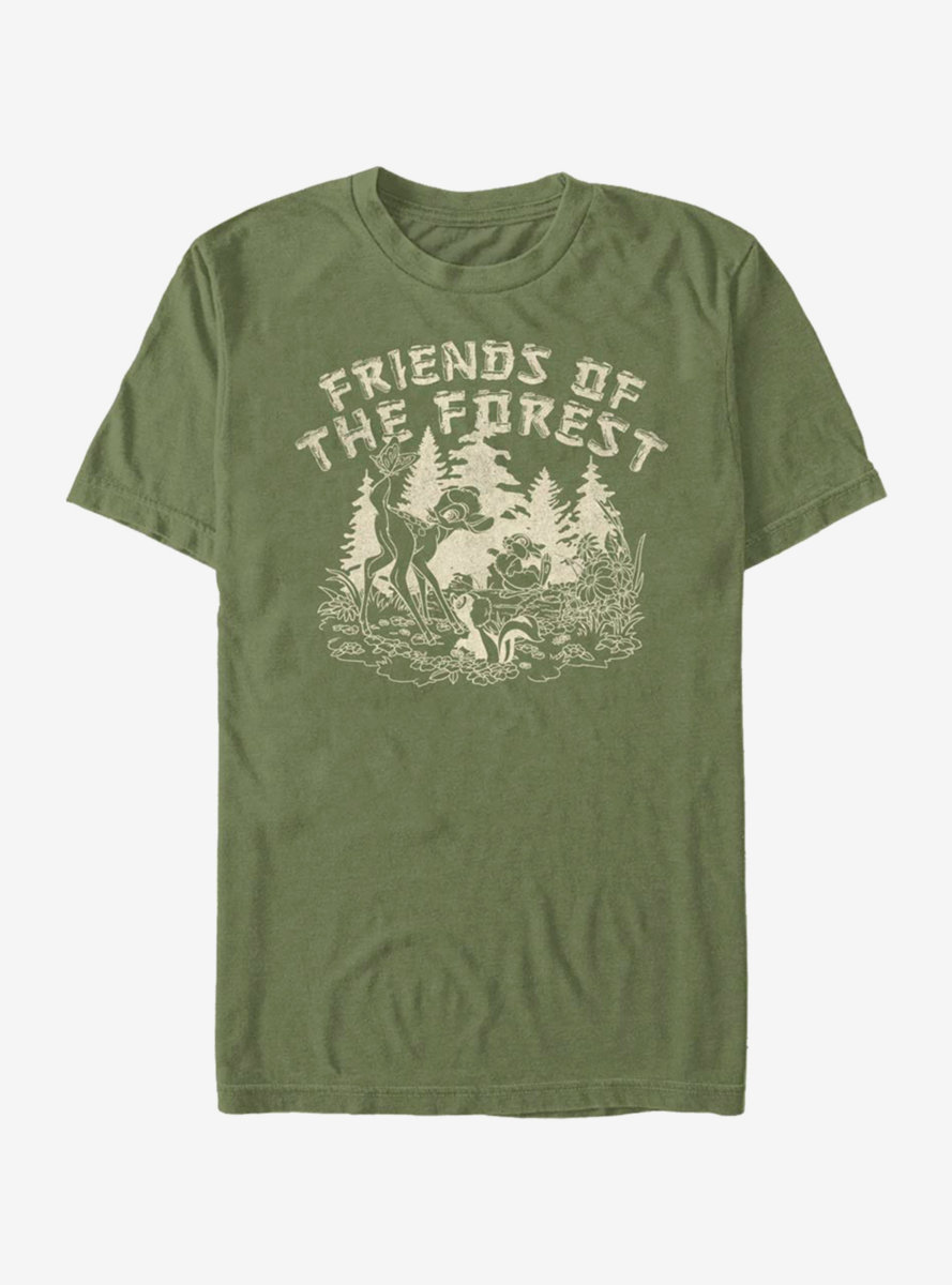 Disney Bambi Friends Of The Forest T-Shirt