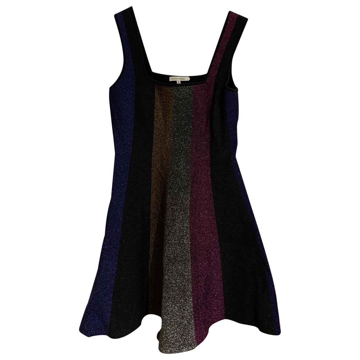 Ronny Kobo \N Kleid in  Bunt Polyester