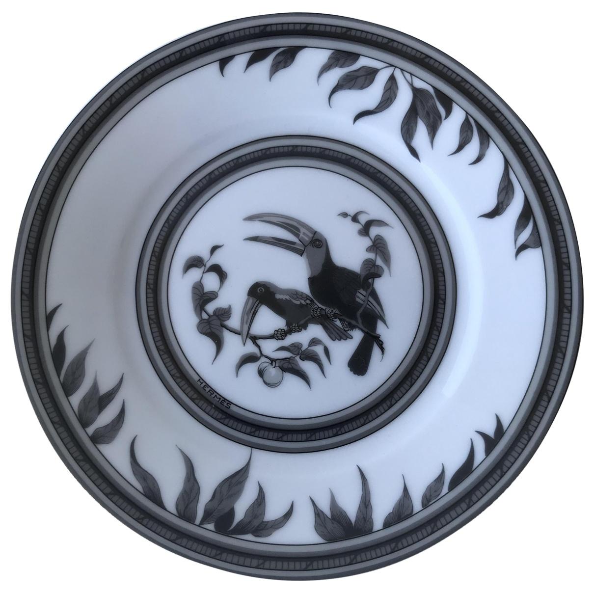 Platos Toucans de Ceramica Hermes