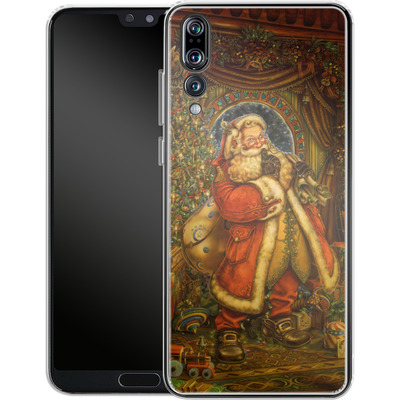 Huawei P20 Pro Silikon Handyhuelle - Myles Pinkeney - Christmas Presence von TATE and CO