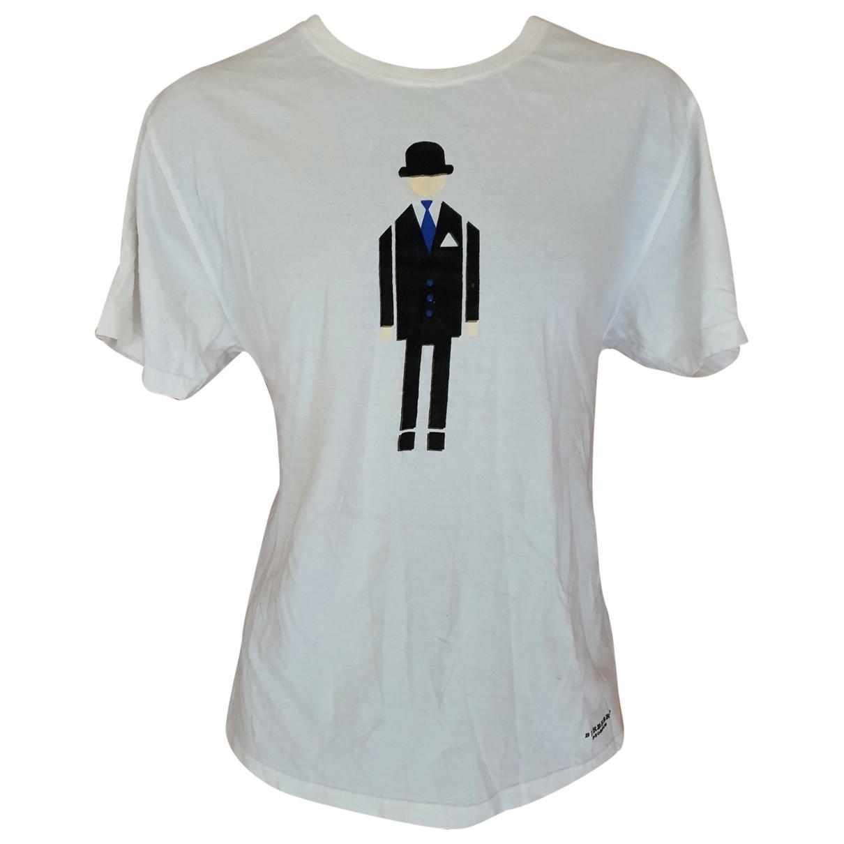 Burberry N White Cotton T-shirts for Men L International