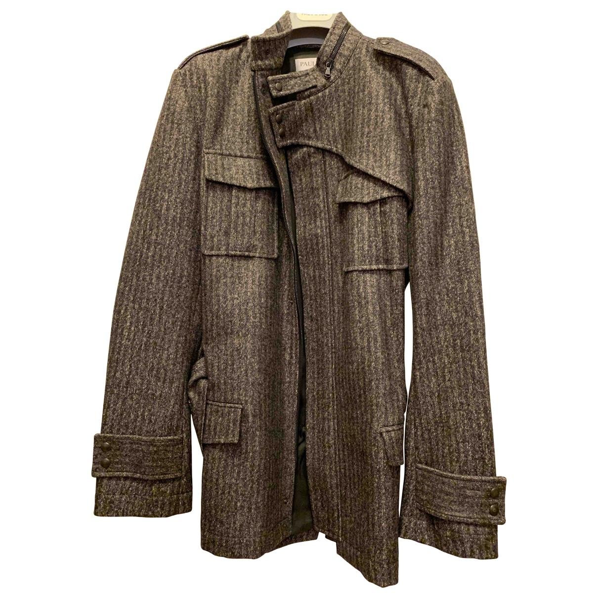 Paul & Joe \N Grey Wool coat  for Men S International