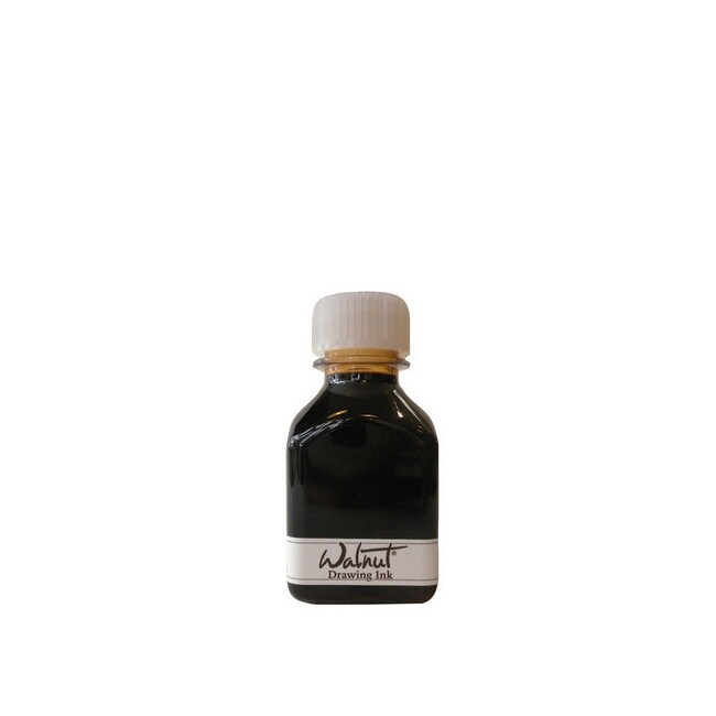 Enkaustikos wax art sppls 000263 tom norton walnut ink 70ml ink bottle