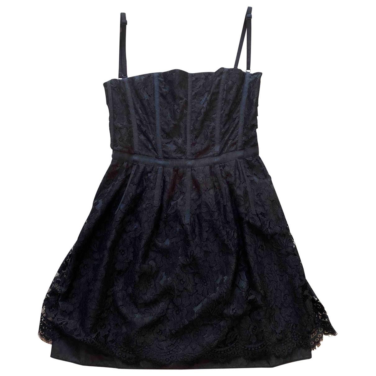 D&g - Robe   pour femme en dentelle - noir