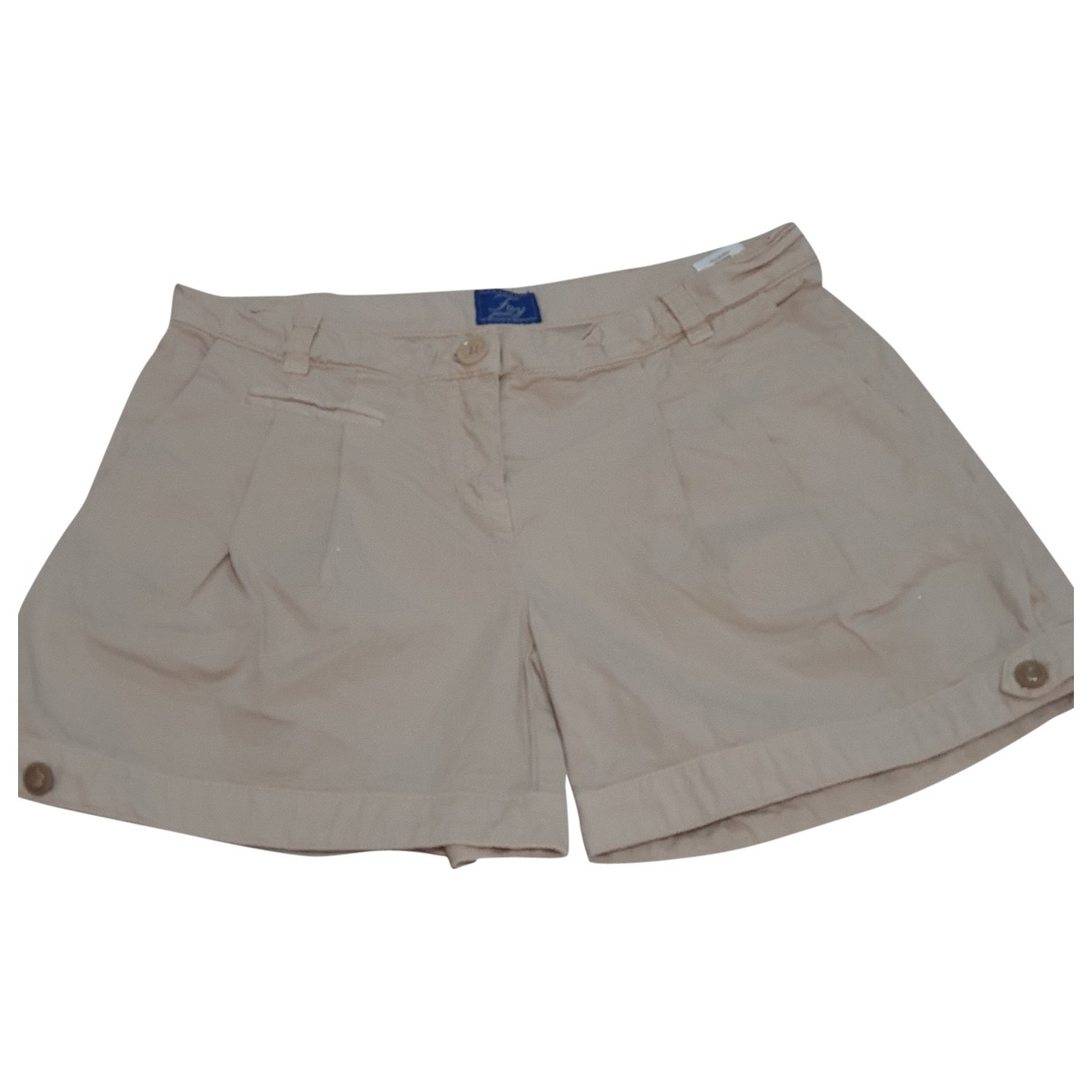 Fay \N Beige Cotton Trousers for Kids 10 years - up to 142cm FR