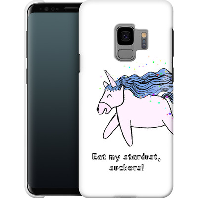 Samsung Galaxy S9 Smartphone Huelle - Eat my stardust von caseable Designs