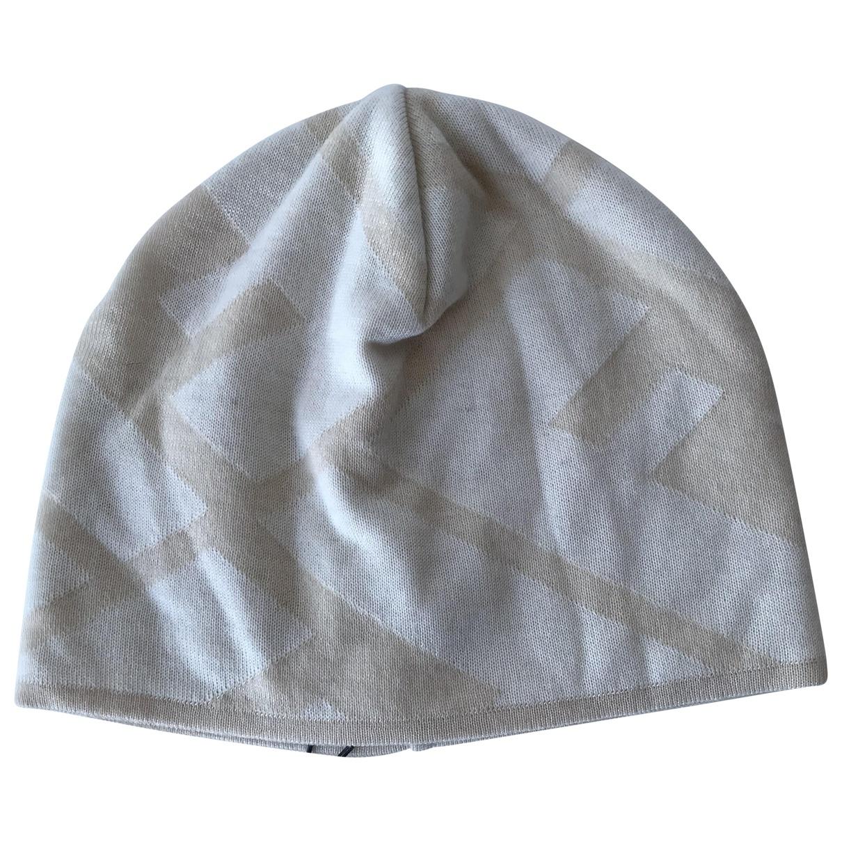 Fendi - Chapeau   pour femme en cachemire - beige