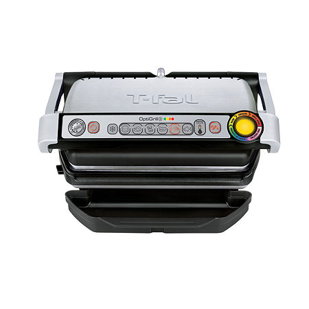 T-Fal Electric OptiGrill Plus, One Size , Silver