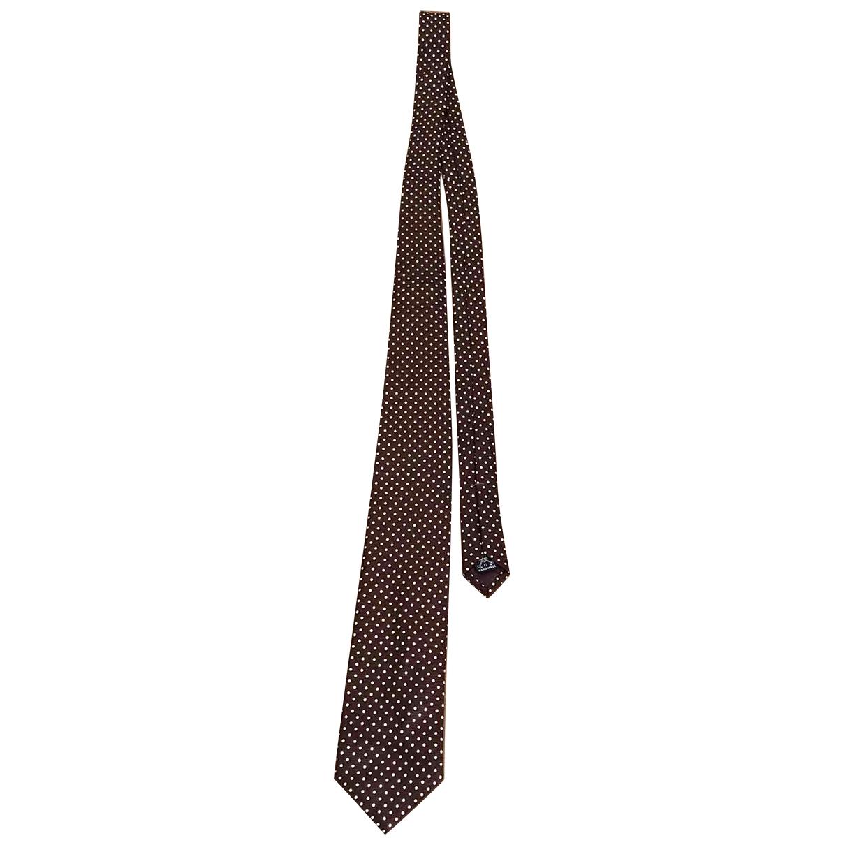 Polo Ralph Lauren \N Krawatten in  Braun Seide