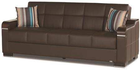 Uptown Collection UPTOWN SOFABED BROWN PU 27-448 86