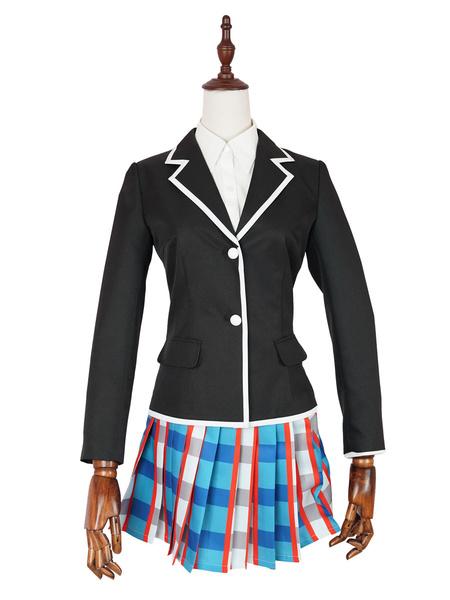 Milanoo Mi adolescente comedia romantica SNAFU uniforme escolar JK uniforme Cosplay disfraz Halloween
