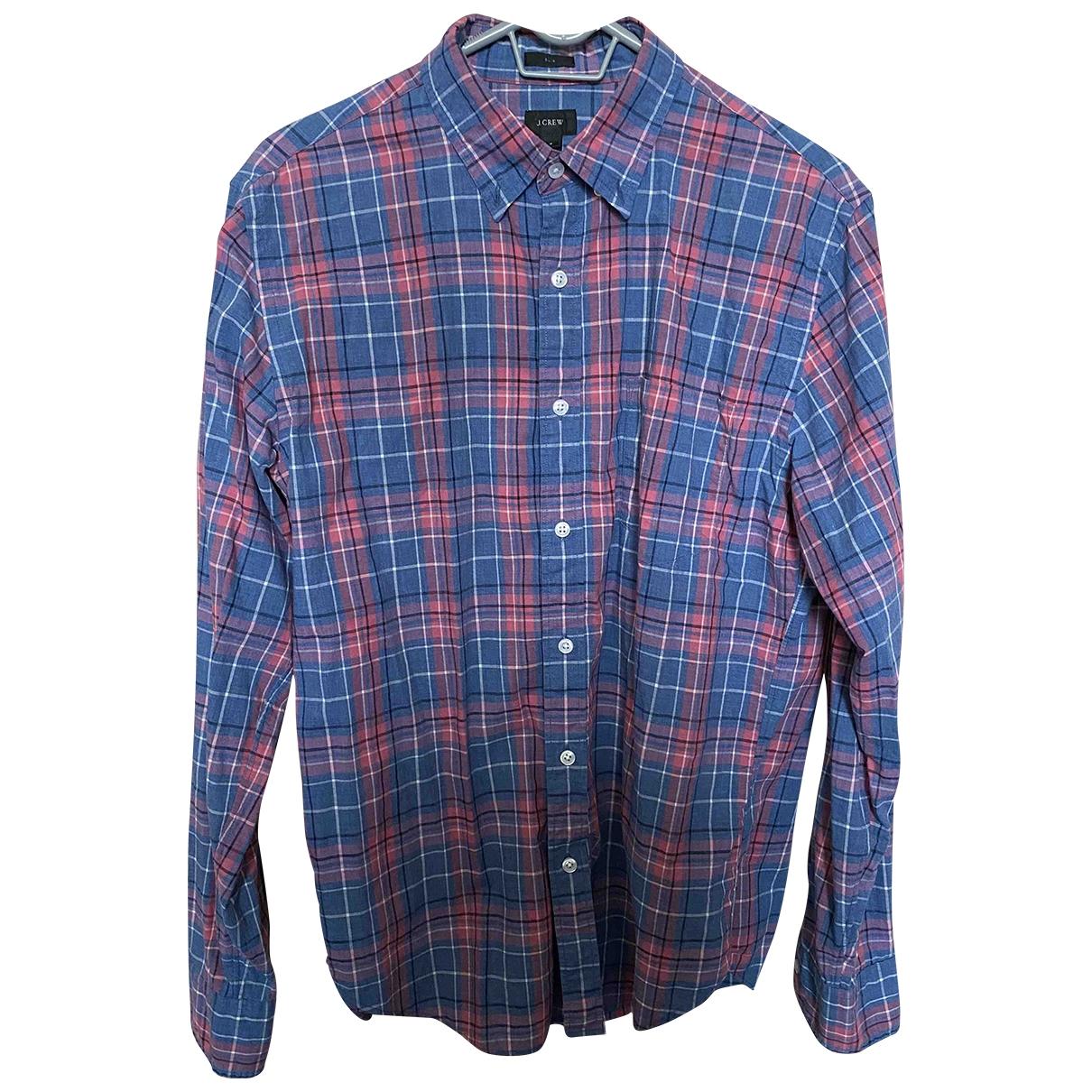 J.crew - Chemises   pour homme en coton - multicolore
