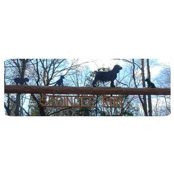 Woodworking Project Paper Plan to Build Springer Spaniel Dog Shadow