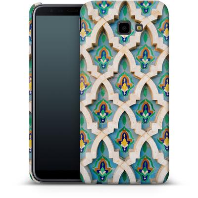 Samsung Galaxy J4 Plus Smartphone Huelle - Moroccan Mosaic von Omid Scheybani