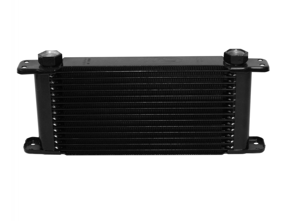 Engine Oil Cooler Kit 14 Row Plate & Fin 11 in (280mm) x 5 in (127mm) x 1-3/4 in (37mm)