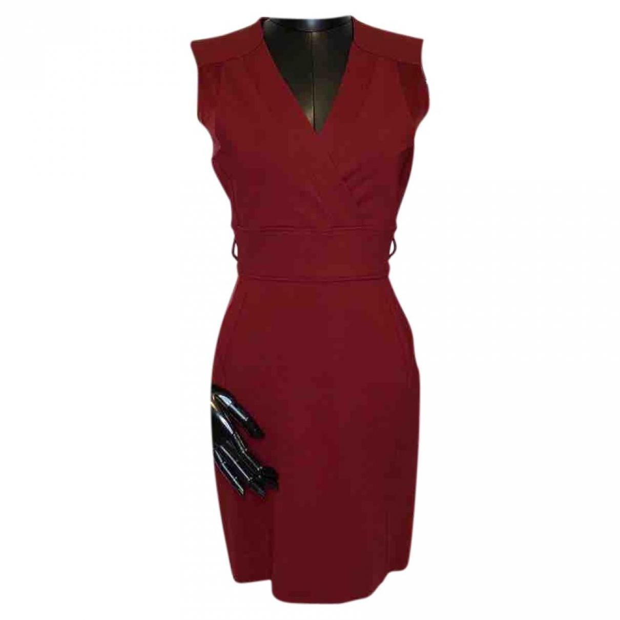 Gucci \N Kleid in  Rot Viskose