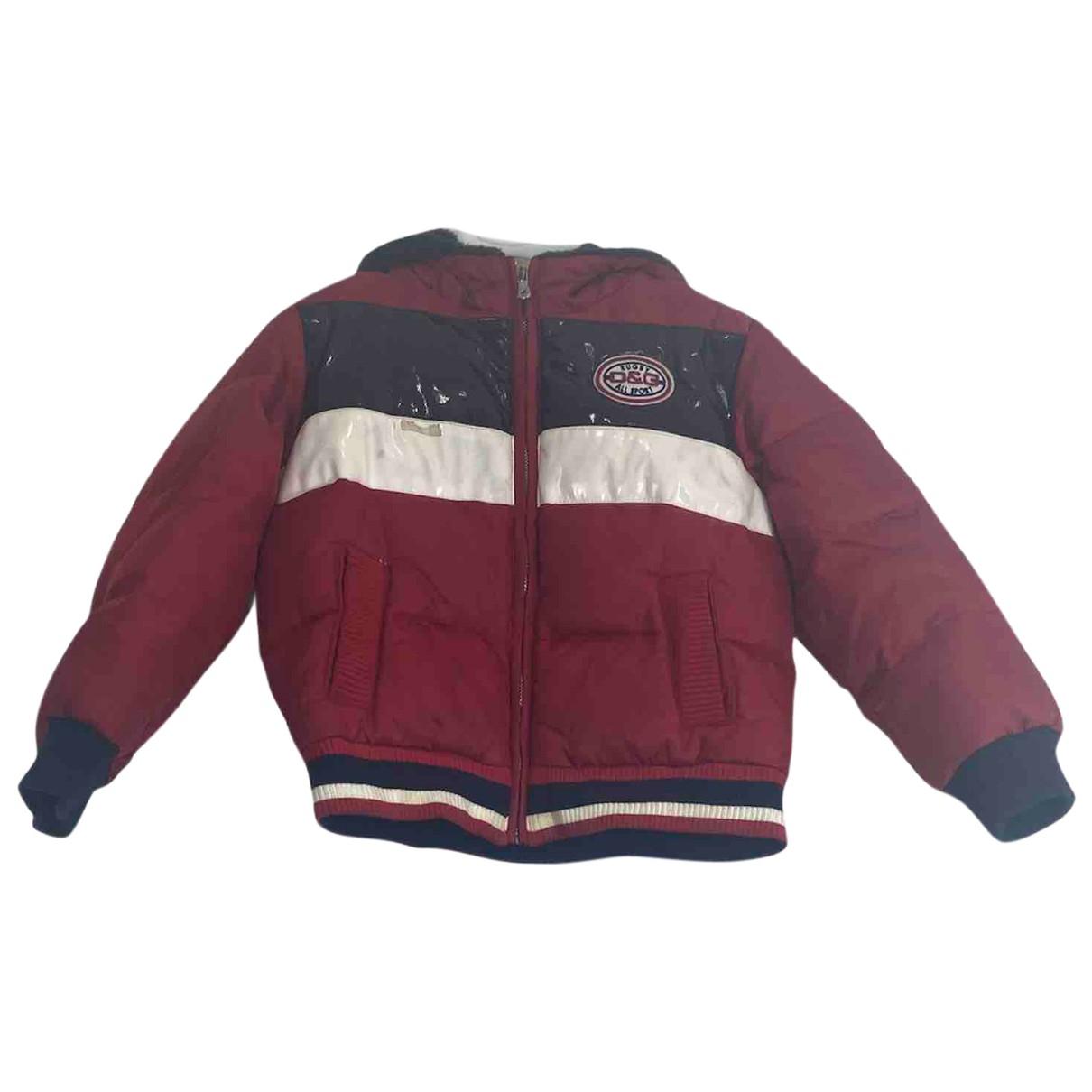 D&g - Blousons.Manteaux   pour enfant - rouge