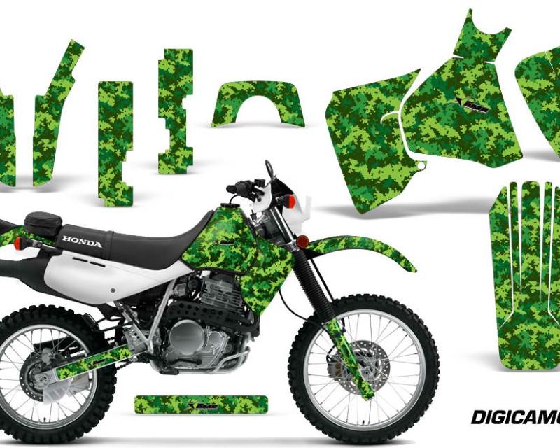 AMR Racing Dirt Bike Decal Graphic Kit MX Sticker Wrap For Honda XR650L 1993-2018áDIGICAMO GREEN