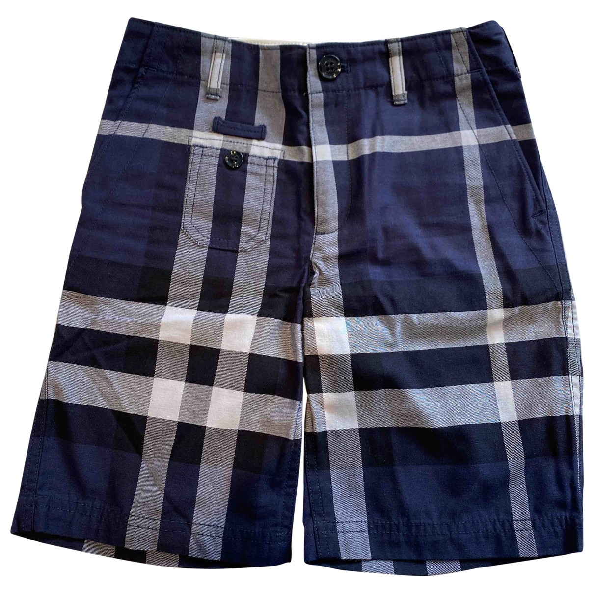 Burberry \N Blue Cotton Shorts for Kids 8 years - up to 128cm FR