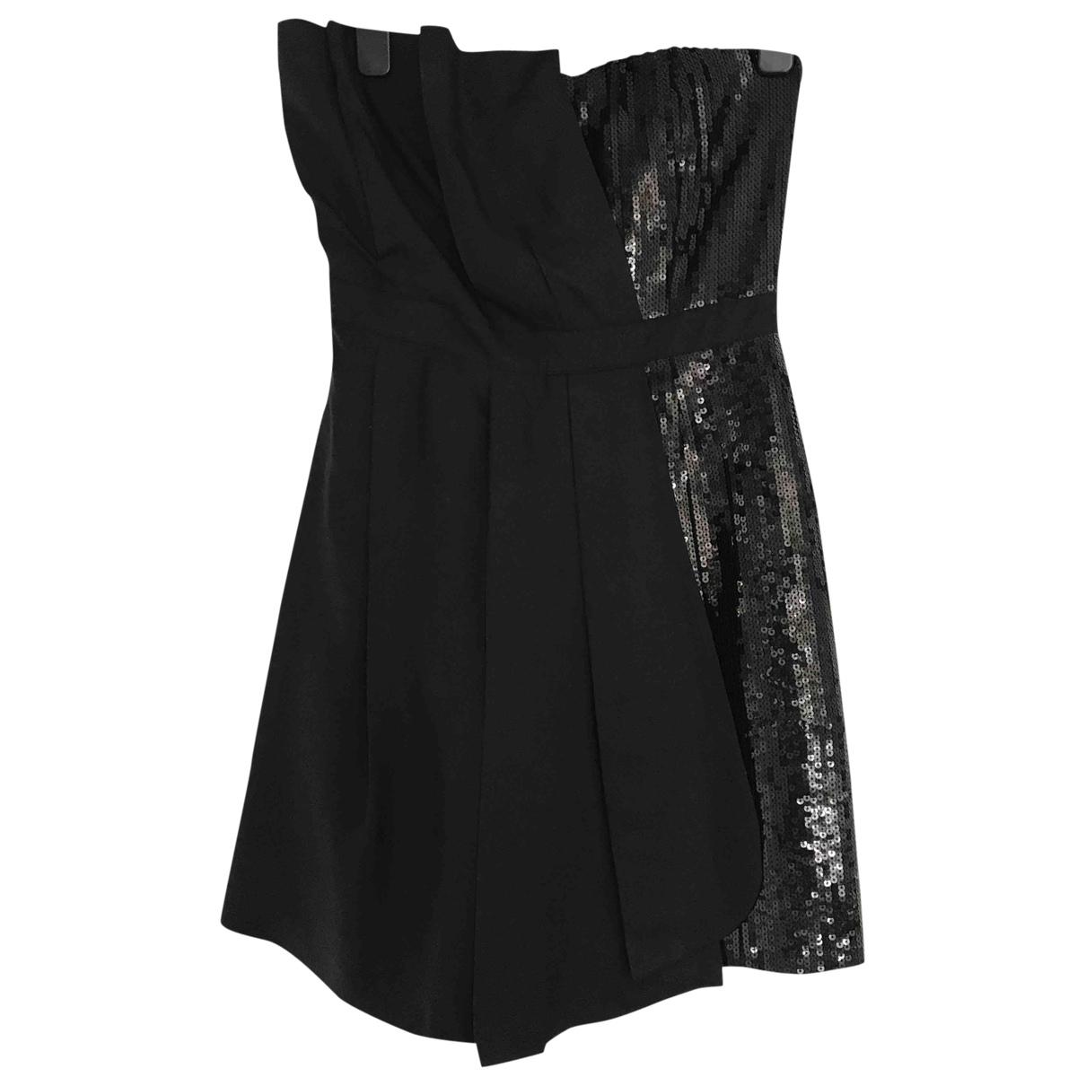 Moschino Love \N Kleid in  Schwarz Seide