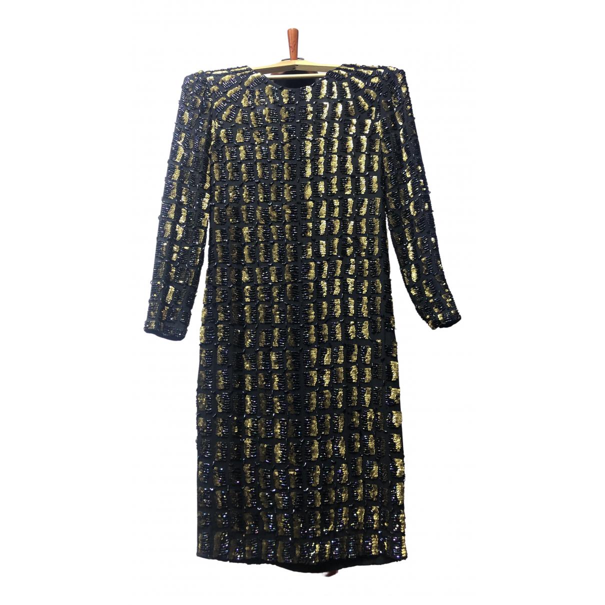 Vestido midi de Con lentejuelas Antik Batik