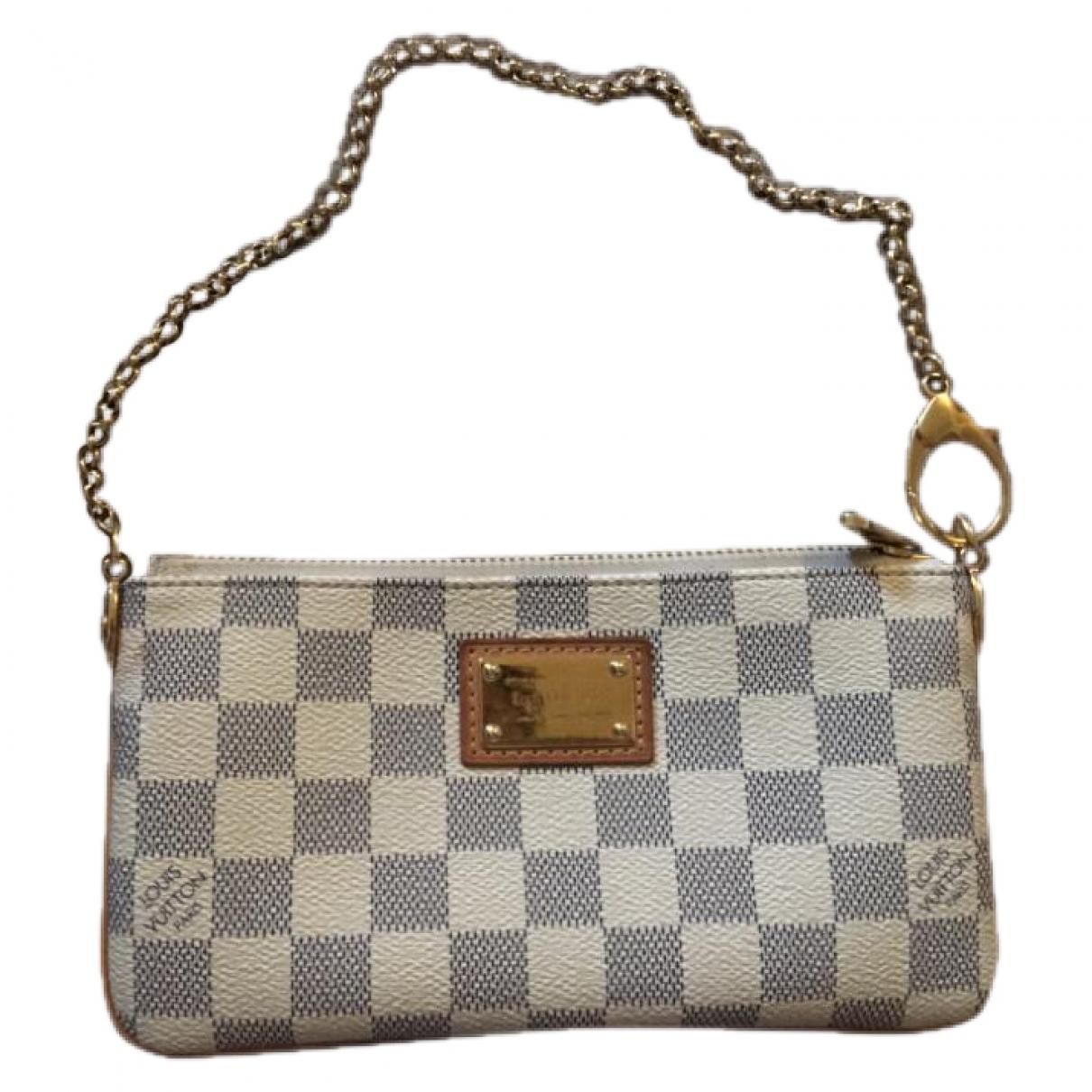 Louis Vuitton - Pochette Milla pour femme en toile - beige