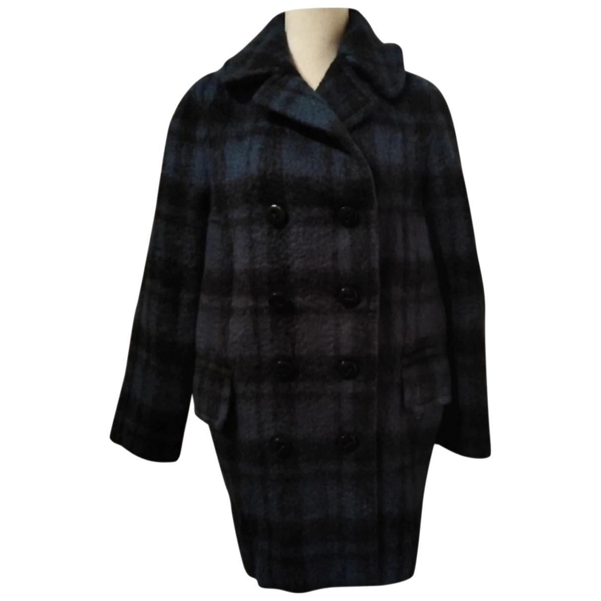Coach \N Black Wool coat for Women 36 FR